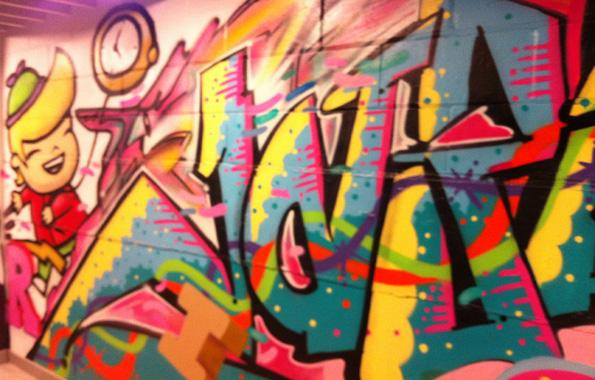GraffitiTextTrinityKitchen